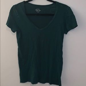 J Crew vintage cotton t-shirt v-neck